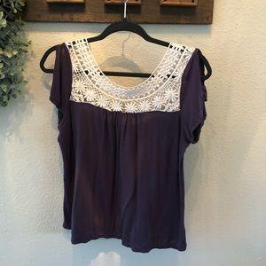 AE Purple Top